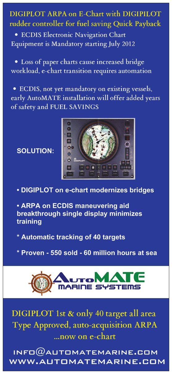 ARPA E-CHART ECDIS NEW maritime transportation technology upgrade vessels fleet